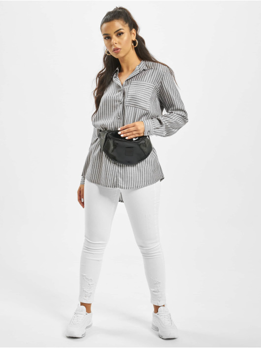 Stitch & Soul Blouse/Tunic Stripe grey