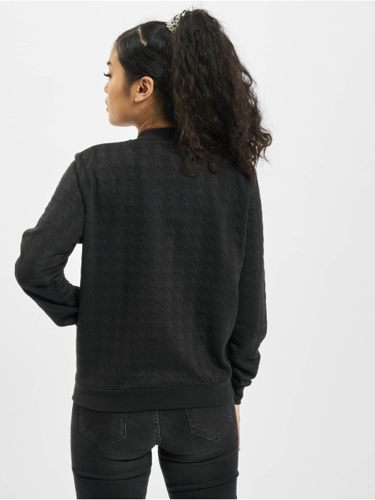 Stitch & Soul Bomber jacket Embossing black