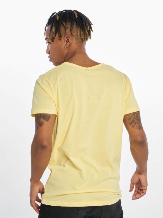 Stitch & Soul Camiseta Living Paradise amarillo
