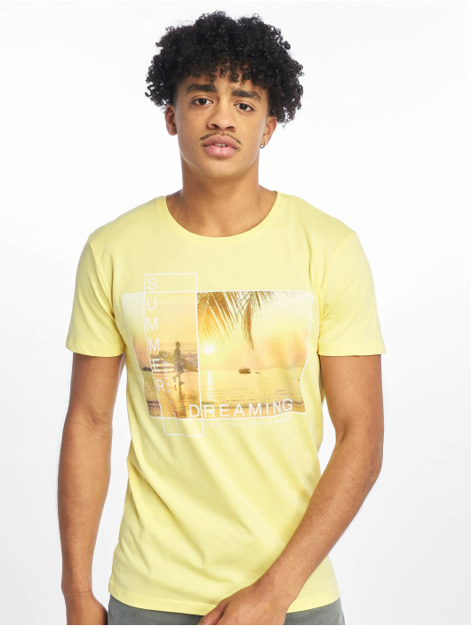 Stitch & Soul Camiseta Summer Dreaming amarillo