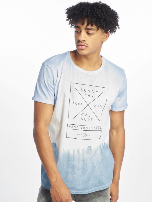 Stitch & Soul Camiseta Batik azul