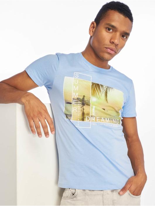 Stitch & Soul Camiseta Summer Dreaming azul