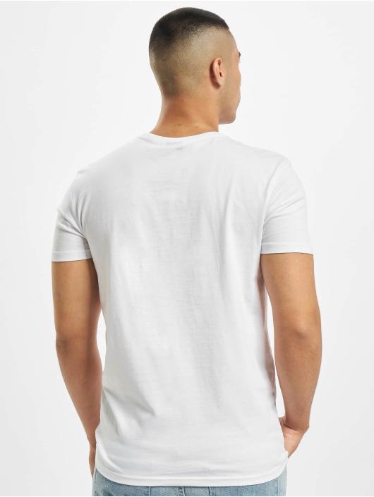Stitch & Soul Camiseta Tropical blanco