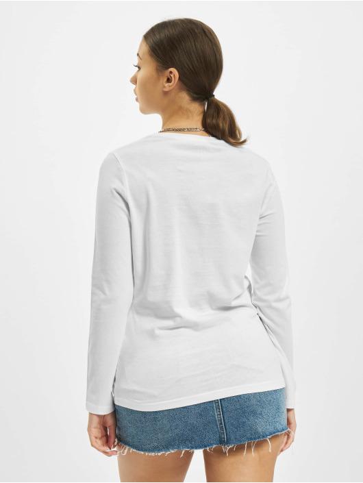 Stitch & Soul Camiseta de manga larga Hearted blanco