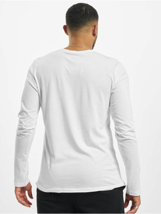Stitch & Soul Camiseta de manga larga Milo blanco