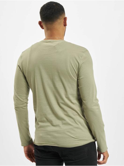 Stitch & Soul Camiseta de manga larga Milo oliva