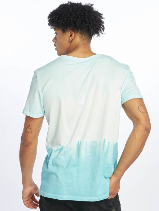 Stitch & Soul Camiseta Batik turquesa