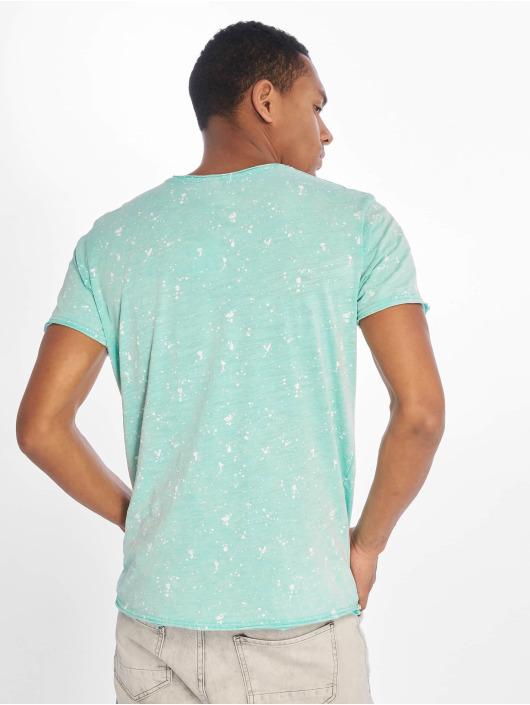 Stitch & Soul Camiseta Sprinkled turquesa
