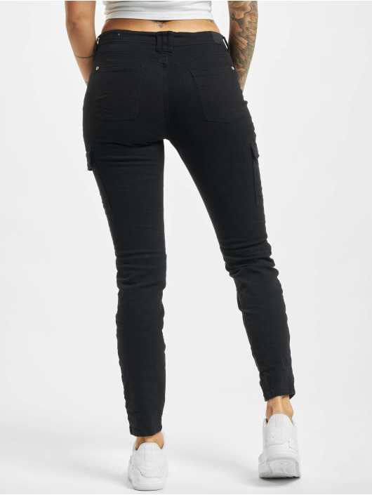 Stitch & Soul Cargo pants Madga black