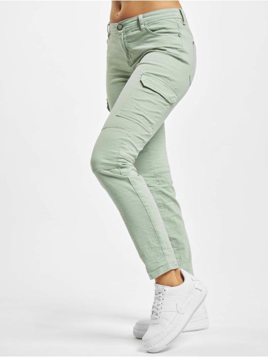 Stitch & Soul Cargo pants Magda grön