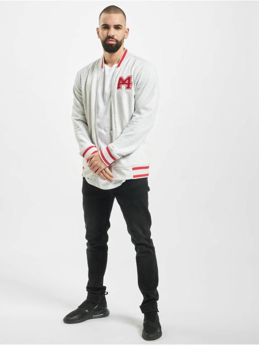 Stitch & Soul College Jacket Nilay gray