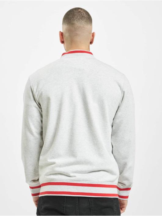 Stitch & Soul College jakke Nilay grå