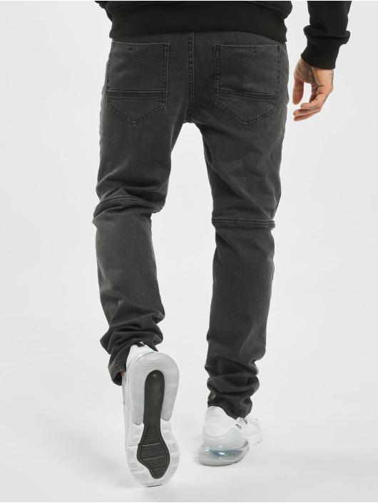 Stitch & Soul dżinsy przylegające Elastic Knee czarny