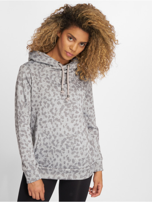 Stitch & Soul Hoodie Speckled grey