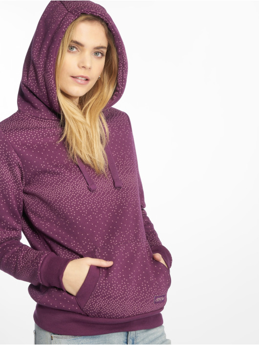 Stitch & Soul Hoody Dots paars