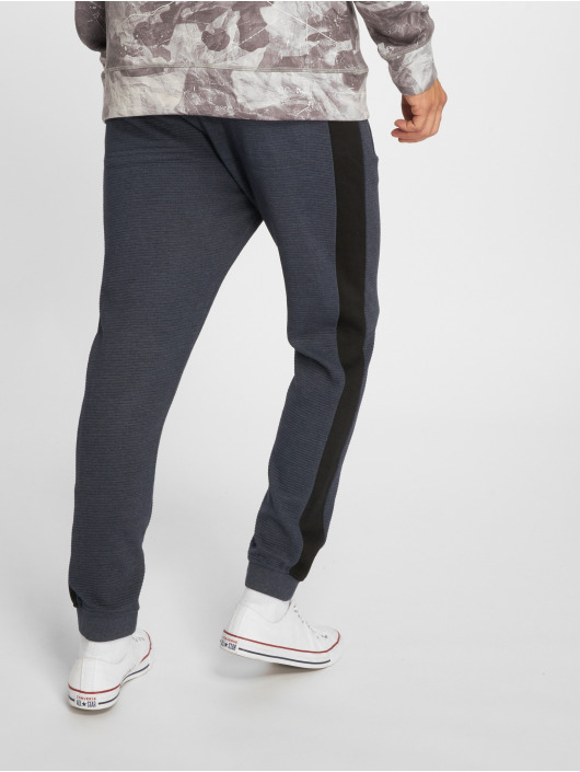 Stitch & Soul joggingbroek Ribbed blauw