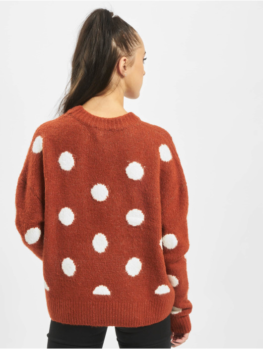 Stitch & Soul Jumper Dots orange