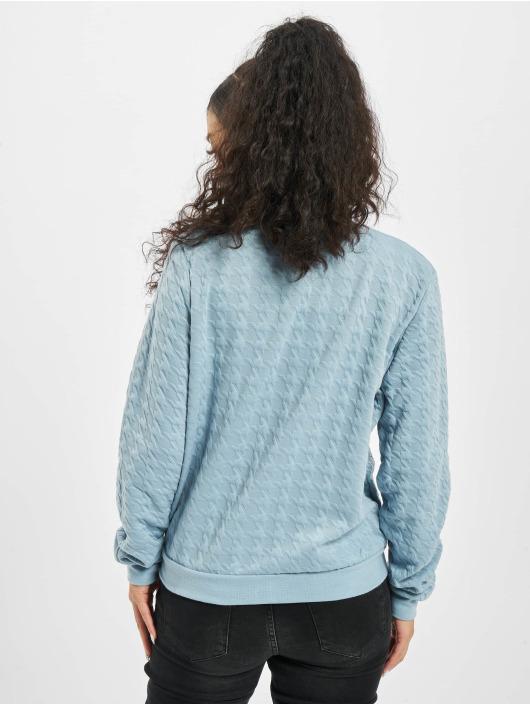 Stitch & Soul Letecká bunda Embossing modrý