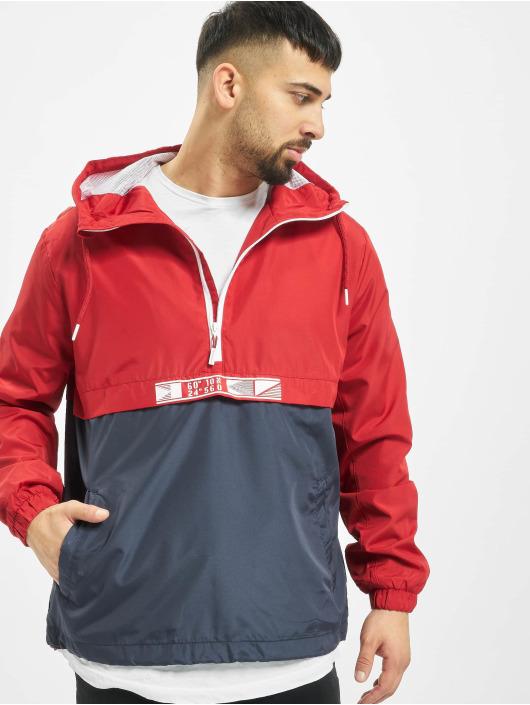 Stitch & Soul Lightweight Jacket 2 Tone red