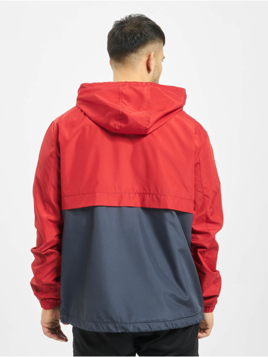 Stitch & Soul Lightweight Jacket 2 Tone red