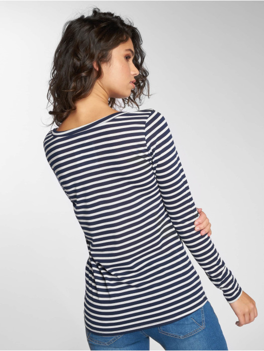 Stitch & Soul Longsleeve Stripes blau