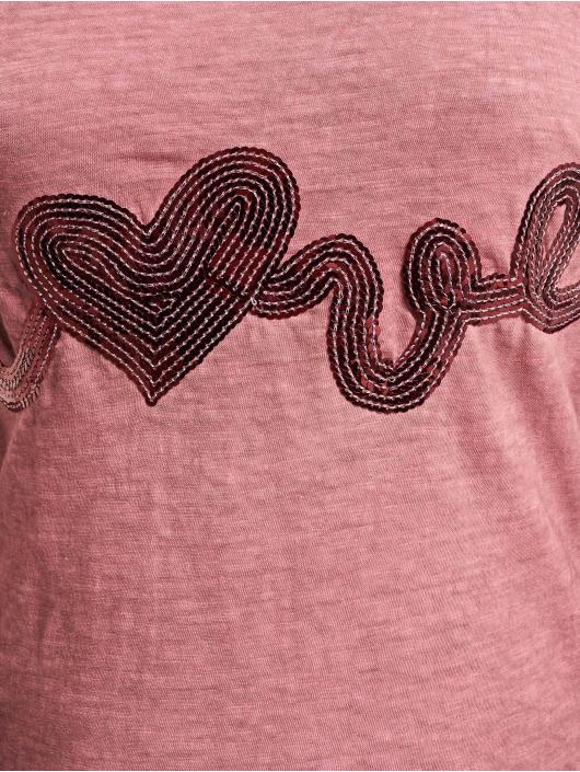 Stitch & Soul Longsleeve Love rosa
