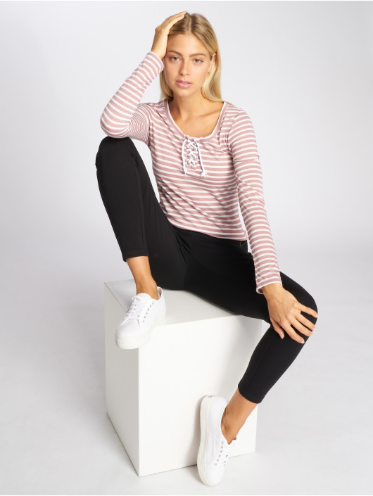 Stitch & Soul Longsleeve Stripes rose