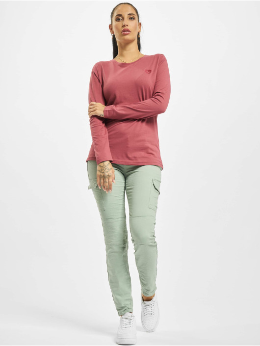 Stitch & Soul Longsleeves Hearted pink