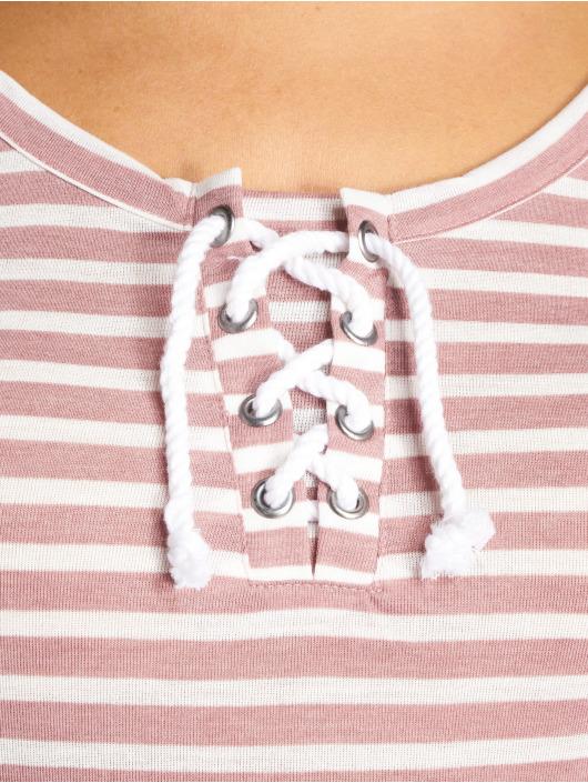 Stitch & Soul Longsleeves Stripes rózowy