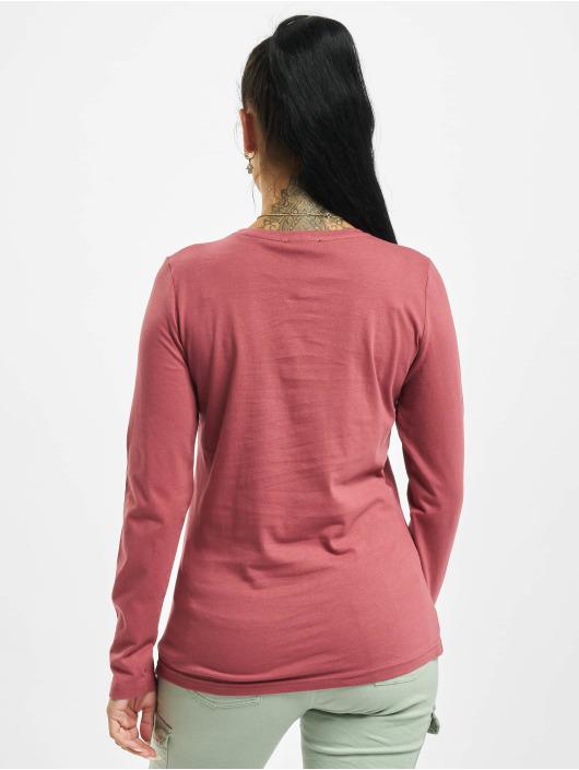 Stitch & Soul Maglietta a manica lunga Hearted rosa