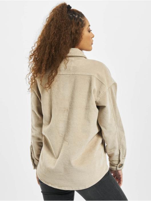 Stitch & Soul overhemd Marta beige