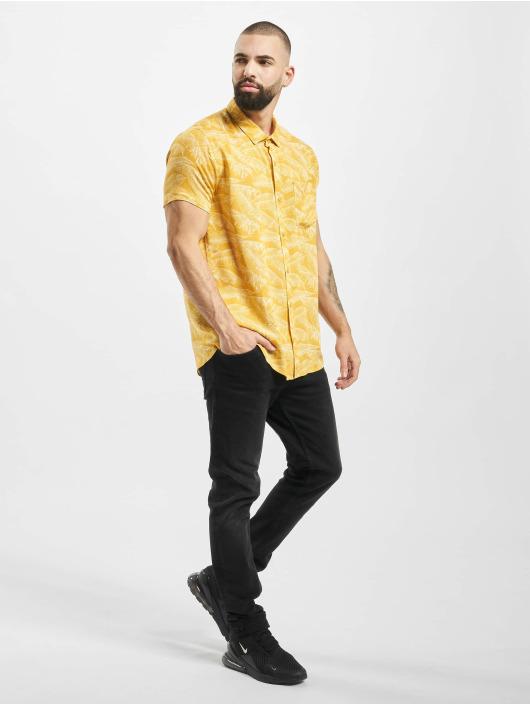 Stitch & Soul overhemd Summer geel