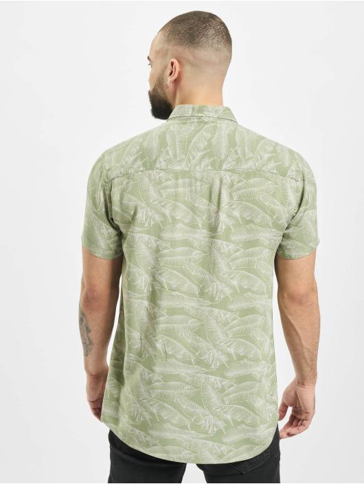 Stitch & Soul overhemd Summer olijfgroen