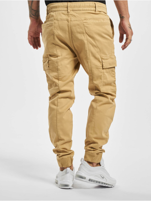 Stitch & Soul Pantalon chino Griffin beige