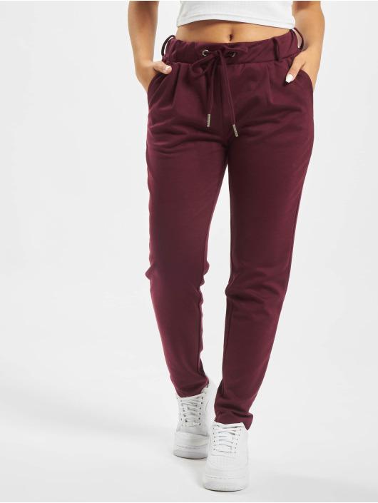 Stitch & Soul Pantalon chino Bria rouge