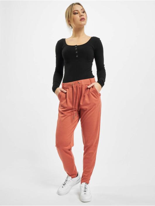 Stitch & Soul Pantalon chino Leni rouge