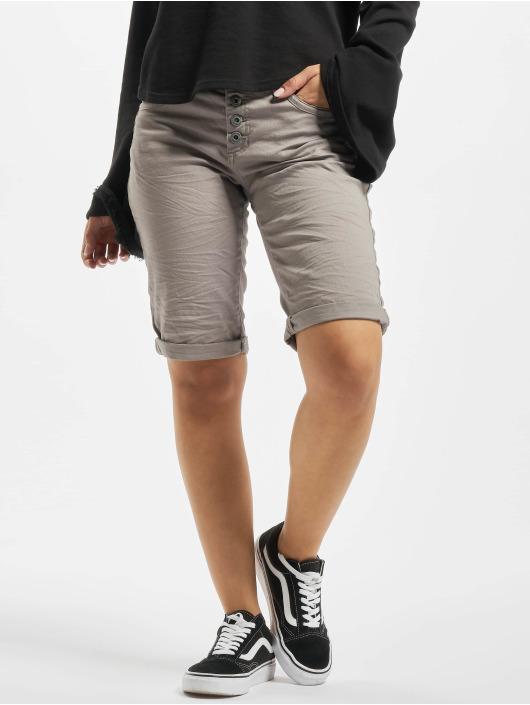 Stitch & Soul Pantalón cortos 5-Pocket Bermuda gris