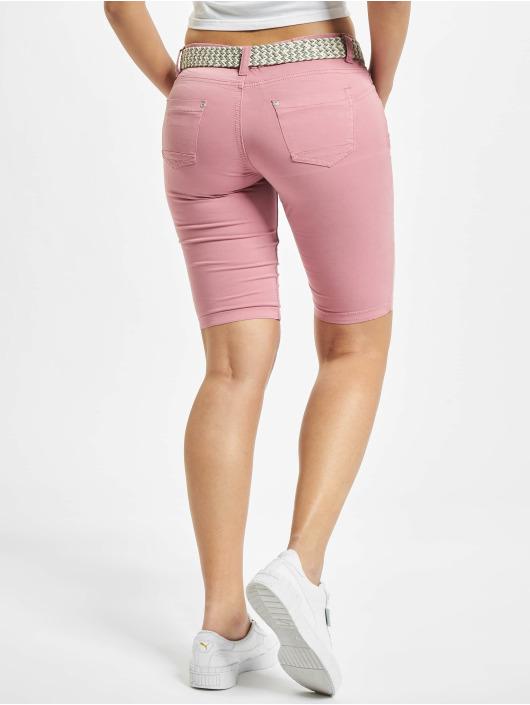 Stitch & Soul Pantalón cortos Bermuda rosa