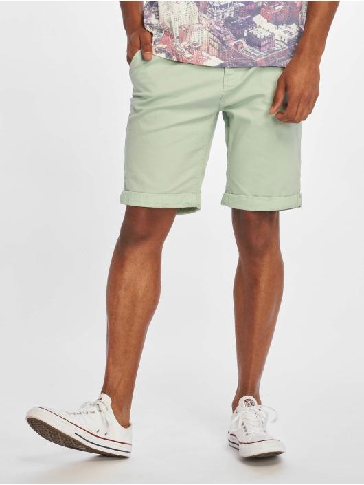 Stitch & Soul Pantalón cortos Chino Bermuda verde