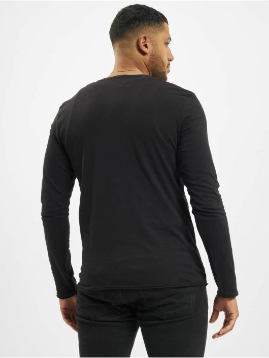 Stitch & Soul Pitkähihaiset paidat Milo musta