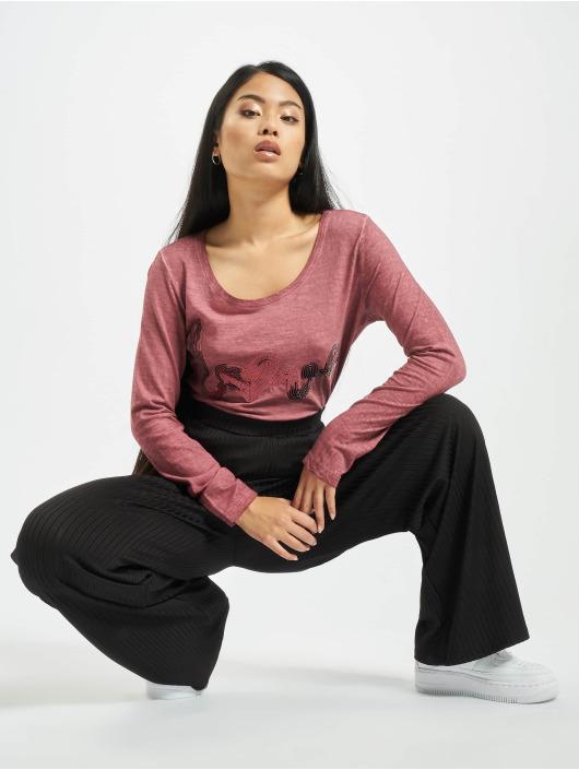 Stitch & Soul Pitkähihaiset paidat Love roosa