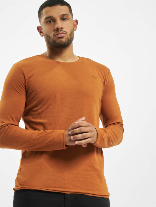 Stitch & Soul Pitkähihaiset paidat Milo ruskea