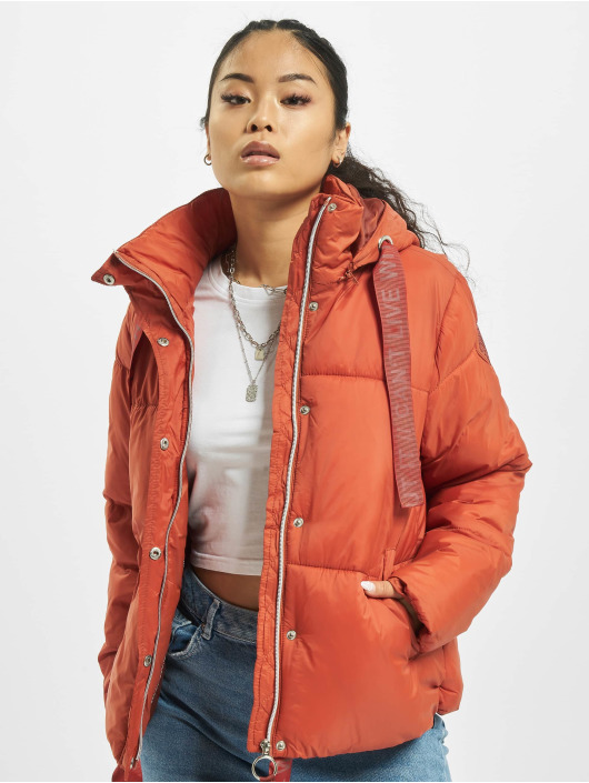 Stitch & Soul Puffer Jacket Cant Live orange