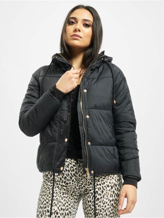 Stitch & Soul Puffer Jacket Cataleya schwarz
