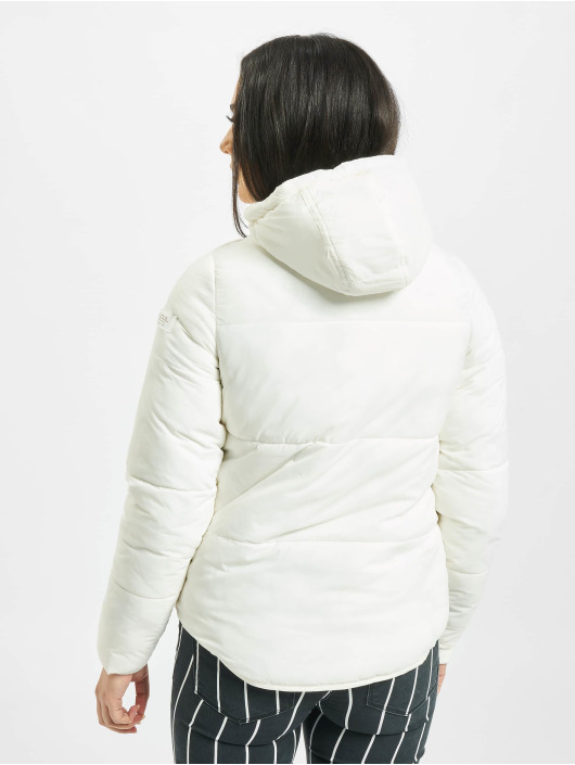 Stitch & Soul Puffer Jacket Cataleya white