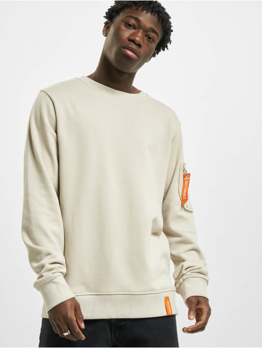 Stitch & Soul Pullover Questionable beige