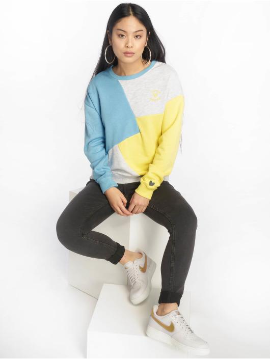 Stitch & Soul Pullover Diagonal blue