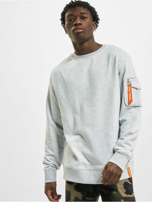 Stitch & Soul Pullover Questionable gray