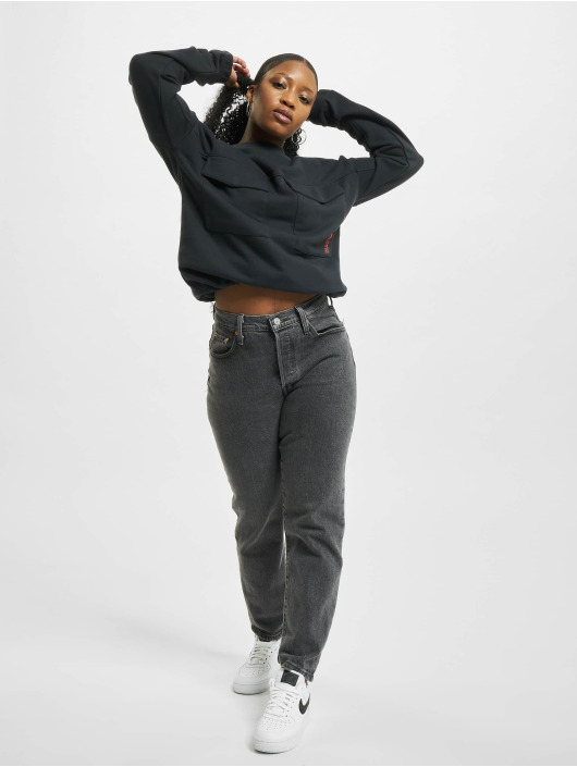Stitch & Soul Pullover Message gray