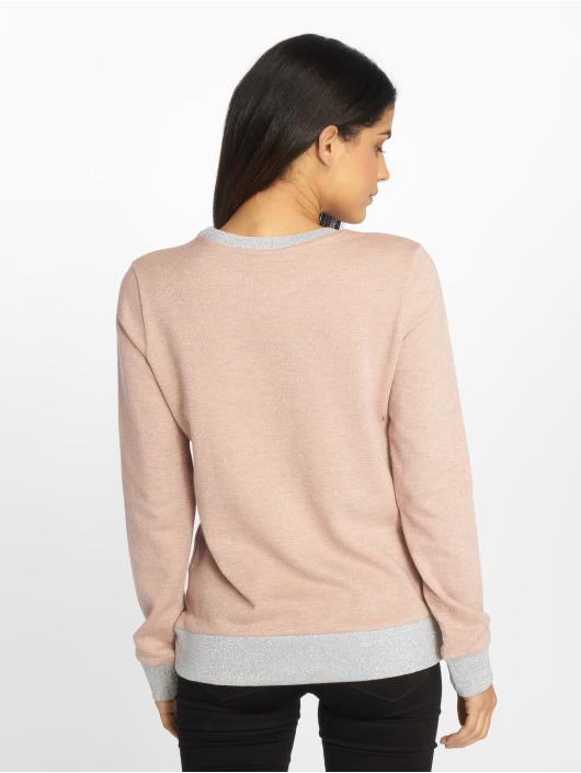 Stitch & Soul Pullover Glitter rosa